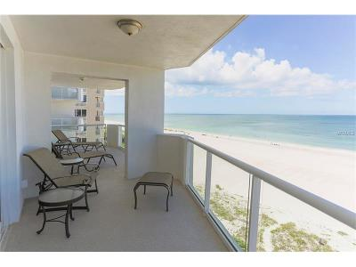 Hernando County, Hillsborough County, Pasco County, Pinellas County Condo For Sale: 1350 Gulf Boulevard #703/704
