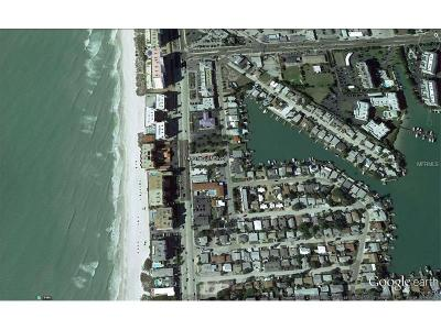 Madeira Beach Residential Lots & Land For Sale: 14801 Gulf Boulevard