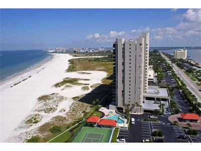 Clearwater Beach Condo For Sale: 1290 Gulf Boulevard #507
