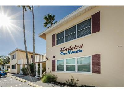 Madeira Beach Condo For Sale: 90 144th Avenue #2