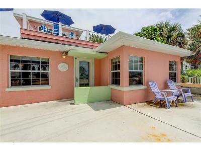 Treasure Island Single Family Home For Sale: 7799 W Gulf Boulevard
