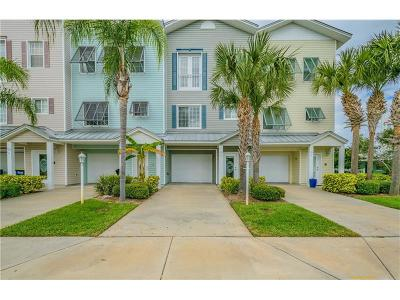 Clearwater Beach Townhouse For Sale: 130 Brightwater Drive #8