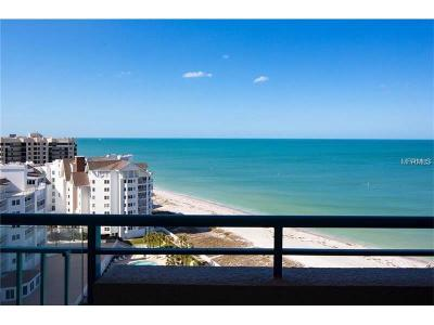 Clearwater, Clearwater Beach Condo For Sale: 1560 Gulf Boulevard #1207