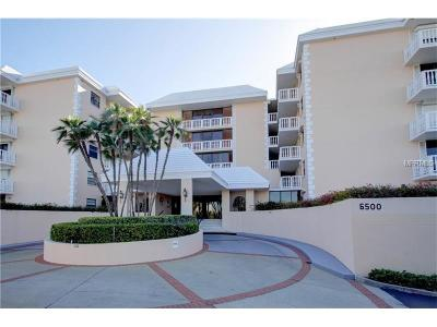 Hernando County, Hillsborough County, Pasco County, Pinellas County Condo For Sale: 6500 Sunset Way #201