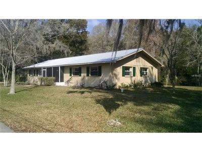 Levy County Single Family Home For Sale: 47 Framlingham Drive