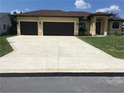 Punta Gorda Single Family Home For Sale: 1493 Navigator Road