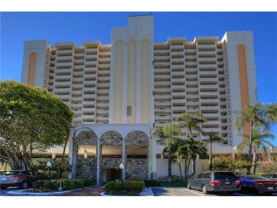 Clearwater Beach Condo For Sale: 1270 Gulf Boulevard #1108