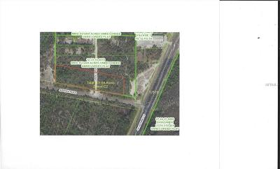 Pasco County Commercial For Sale: 0 Aripeka Road