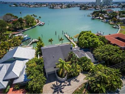 Saint Pete Beach, St Pete Beach, St Petersburg Beach, St. Pete Beach Single Family Home For Sale: 7015 Boca Ciega Drive