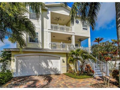 Indian Rocks Beach Single Family Home For Sale: 375 Harbor Drive S
