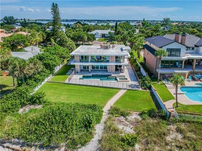 Pinellas County Single Family Home For Sale: 120 Gulf Boulevard