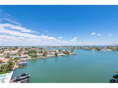 St Pete Beach Condo For Sale: 420 64th Avenue #805