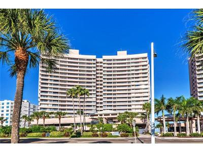 Clearwater Beach Condo For Sale: 1340 Gulf Boulevard #2F