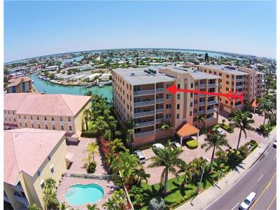 Treasure Island Condo For Sale: 11525 Gulf Boulevard #500