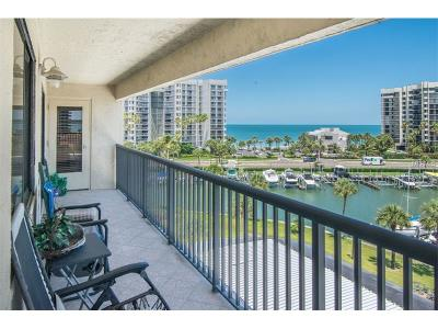 Clearwater Beach Condo For Sale: 1651 Sand Key Estates Court #52