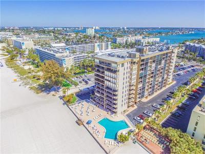 St Pete Beach Condo For Sale: 5396 Gulf Boulevard #904