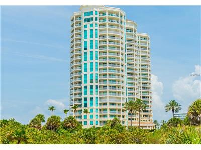 Clearwater Condo For Sale: 1170 Gulf Boulevard #805