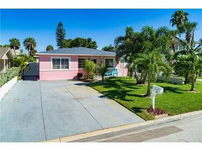 St Pete Beach Single Family Home For Sale: 528 77th Avenue