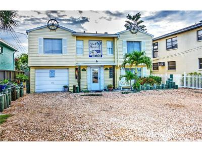 Treasure Island Multi Family Home For Sale: 10021 Gulf Boulevard