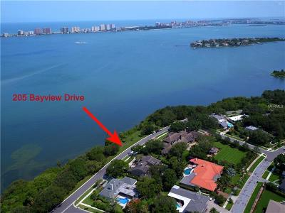 Belleair, Belleair Bluffs Single Family Home For Sale: 205 Bayview Drive