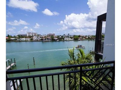 Clearwater, Clearwater Beach Townhouse For Sale: 176 Brightwater Drive #3