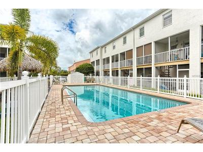 Tierra Verde Townhouse For Sale: 1109 Pinellas Bayway S #404