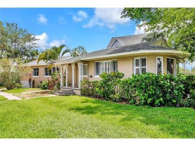 Saint Petersburg Single Family Home For Sale: 3601 NE Alabama Avenue