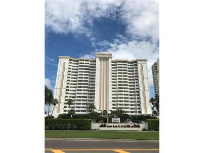 Clearwater Beach Condo For Sale: 1230 Gulf Boulevard #1807