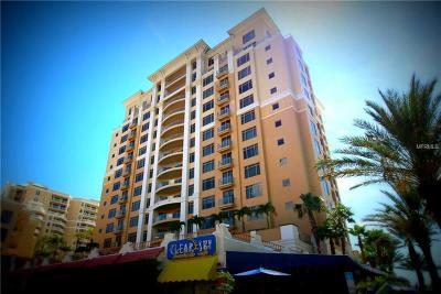 Clearwater, Clearwater Beach Condo For Sale: 11 Baymont Street #804