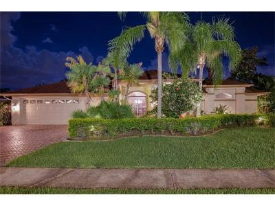 Palm Harbor Single Family Home For Sale: 1824 Eagle Trace Boulevard