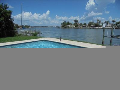 N. Redington, North Redington Beach Single Family Home For Sale: 405 173rd Avenue E