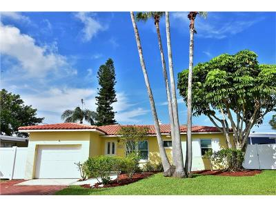 Redington Beach FL Single Family Home For Sale: $649,000