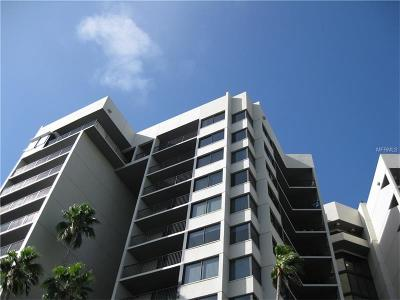 Clearwater Beach Condo For Sale: 1600 Gulf Boulevard #PH5