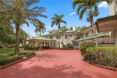 Clearwater FL Single Family Home For Sale: $18,999,000