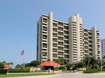 Clearwater Condo For Sale: 1290 Gulf Boulevard #706