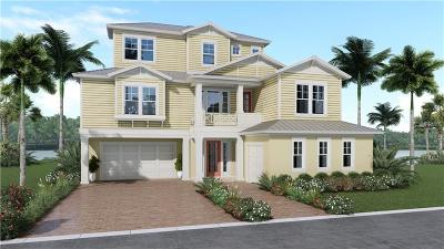 Palm Harbor Single Family Home For Sale: Lot 8 Harbor Palms Court
