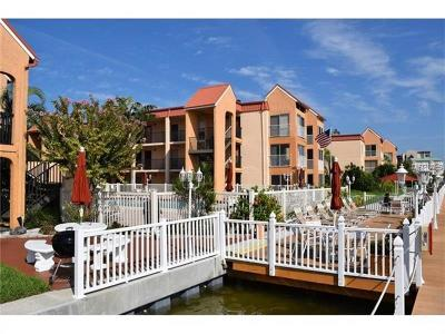 Saint Pete Beach, St Pete Beach Condo For Sale: 8911 Blind Pass Road #101