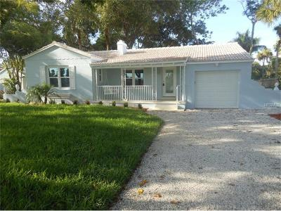 Saint Pete Beach, St Pete Beach Single Family Home For Sale: 157 44th Avenue