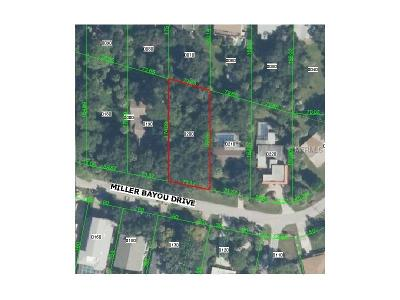 Port Richey Residential Lots & Land For Sale: Millers Bayou