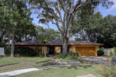 Clearwater, Cleasrwater, Clearwater` Single Family Home For Sale: 2639 Clubhouse Drive S