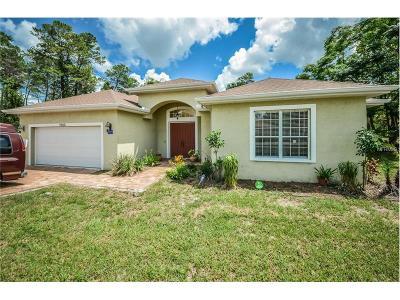 Weeki Wachee Single Family Home For Sale: 7022 Ovenbird Road