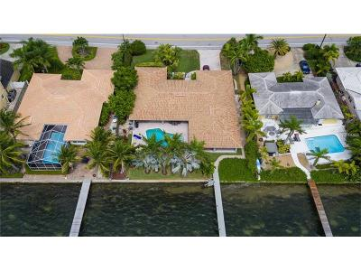 Saint Pete Beach, St Pete Beach Single Family Home For Sale: 2741 E Vina Del Mar Boulevard