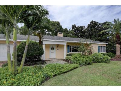 Belleair Single Family Home For Sale: 465 Poinsettia Road