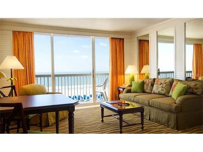 Saint Pete Beach, St Pete Beach Condo For Sale: 5500 Gulf Boulevard #7215