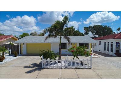 Redington Beach Single Family Home For Sale: 16247 Gulf Boulevard