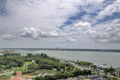 Pinellas County Condo For Sale: 1170 Gulf Boulevard #2201