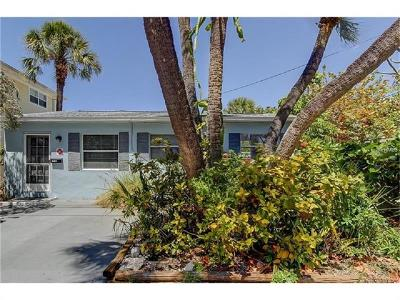 Saint Pete Beach, St Pete Beach Single Family Home For Sale: 107 4th Avenue