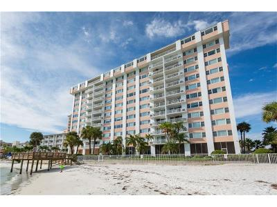 Condo For Sale: 675 S Gulfview Boulevard #1203