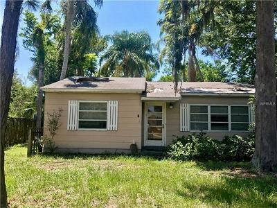 Gulfport FL Single Family Home For Sale: $60,000