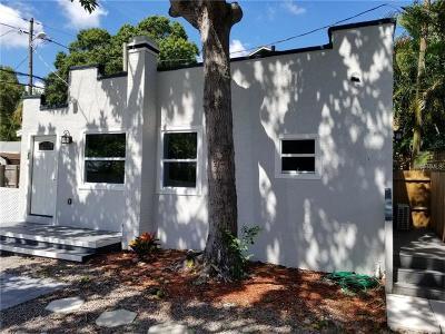 Tampa, Clearwater, Largo, Seminole, St Petersburg, St. Petersburg, Tierra Verde Rental For Rent: 222 1/2 25th Street N #rear